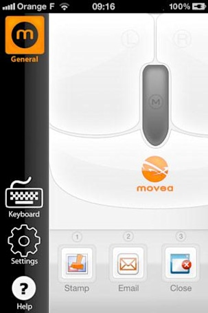 Movea turns your iPod touch or iPhone into an Air Mouse for just $2