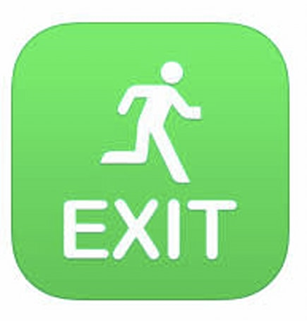 Emergency Exit a great app idea, but not too useful yet