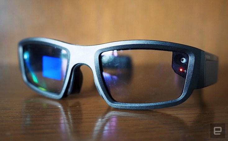 Vuzix's smart glasses still aren't ready for prime time