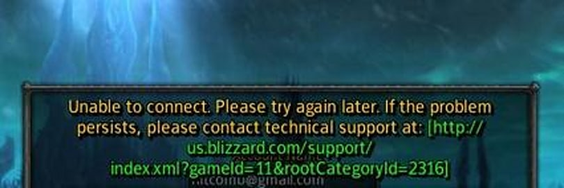 Connection problems strike WoW
