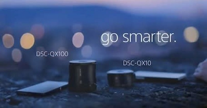 Sony Cyber-shot DSC-QX10/DSC-QX100 smartphone lenses to ship later this month