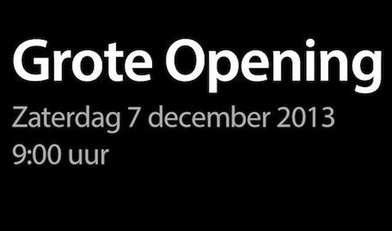 Apple's second Netherlands store opens December 7