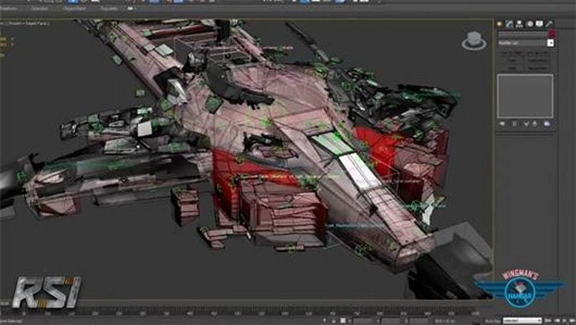 Star Citizen vid shows off the Hornet's 100 different damage states