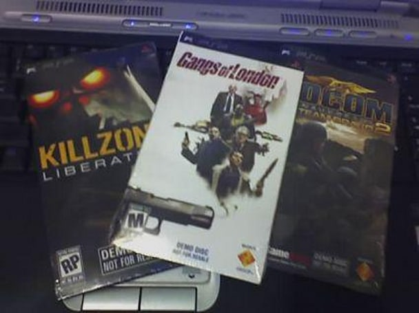 Gangs of London and SOCOM demo UMDs spotted