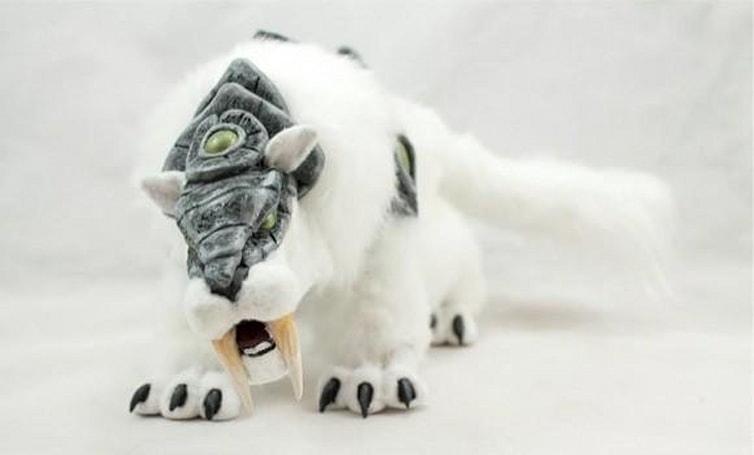 This epic crafted Frostsaber has ridden off with our hearts