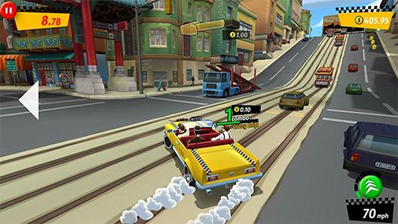 Crazy Taxi: City Rushes to Android