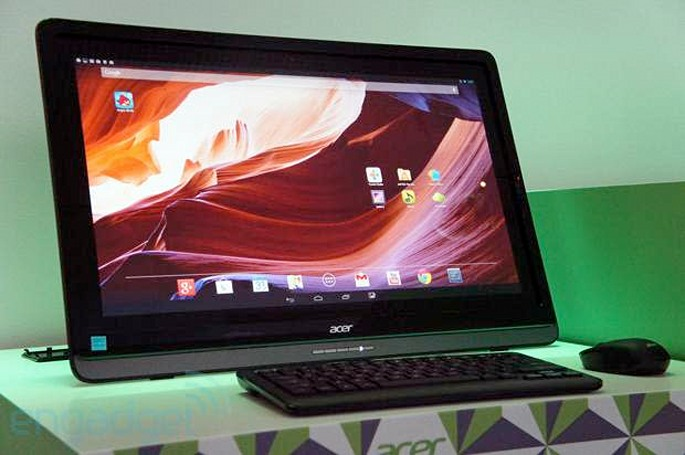 Hands-on with Acer's DA241HL 24-inch all-in-one running Android
