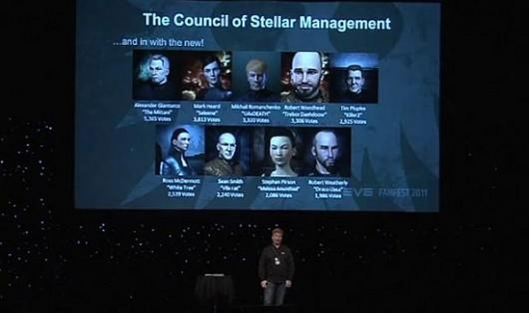 EVE Online prepares the schedule for the next Council of Stellar Management