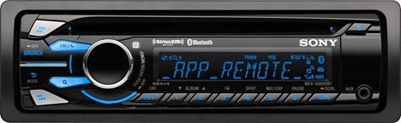 Sony unveils in-car receivers with App Remote, taps into your smartphone music from October