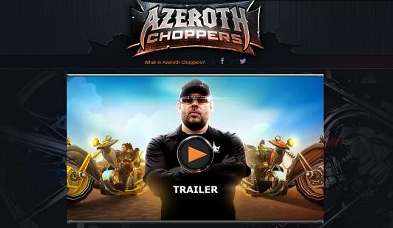 Let's all gape at Azeroth Choppers, a WoW motorcycle-themed reality show
