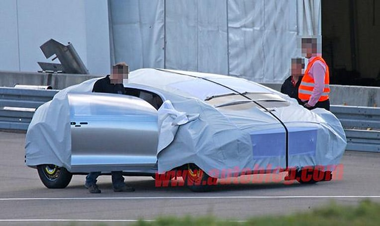 No camouflage can hide this weird Mercedes prototype