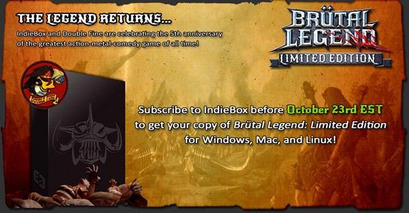 Brutal Legend PC limited edition coming soon from IndieBox