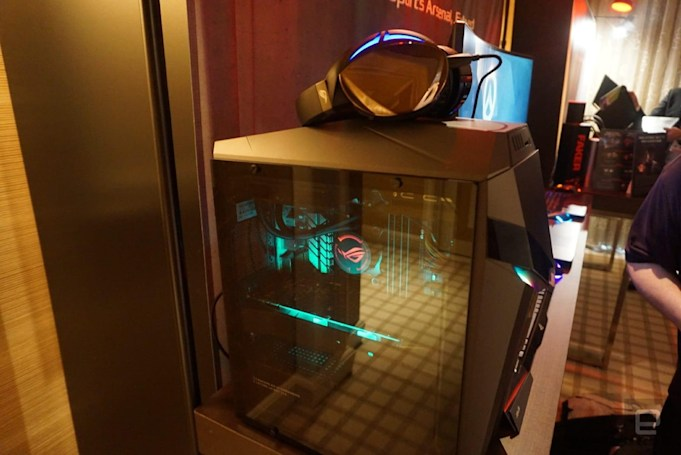 The latest ASUS gaming tower adds more than just flashy lights