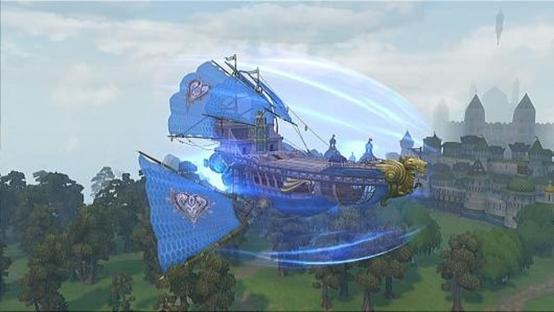 Allods Online offers ship test arenas