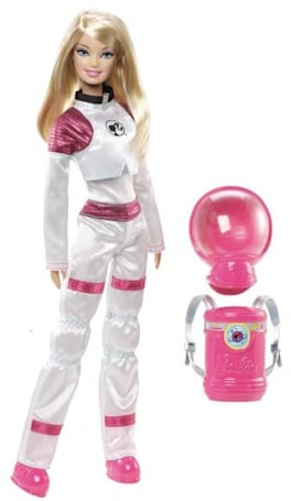 Mars Explorer Barbie: yeah, Ken's over the moon for this one