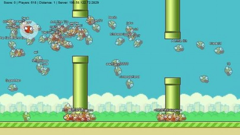 FlapMMO brings non-combat gameplay to new heights