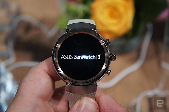 ASUS' ZenWatch 3 brings fast charging to your wrist