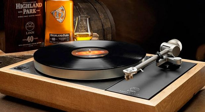 Linn launches £25,000 turntable made out of whisky casks