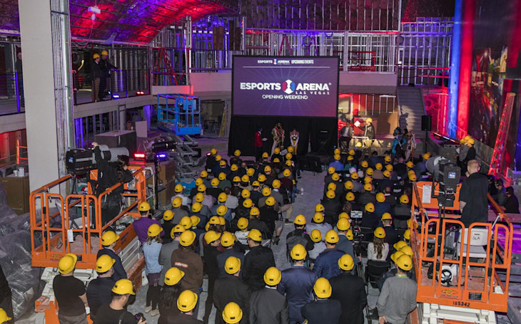 The Las Vegas strip's first eSports arena opens in March