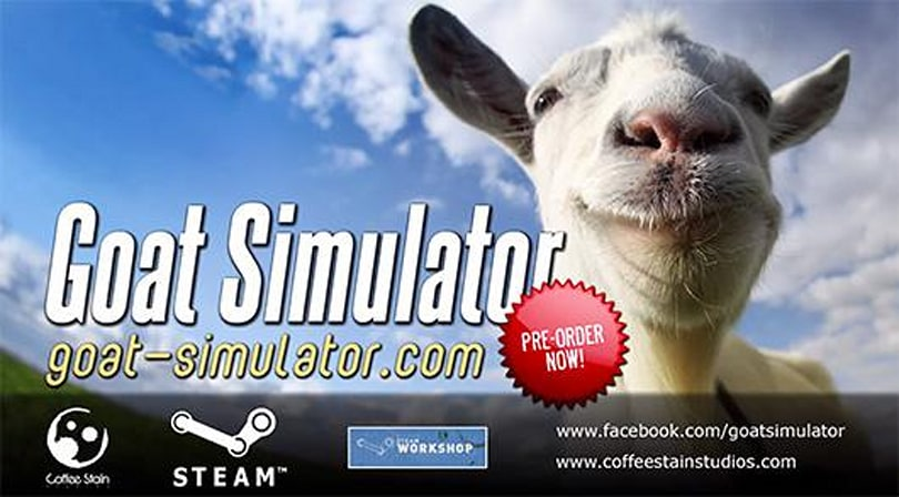 The Internet has spoken, Goat Simulator now available for pre-order