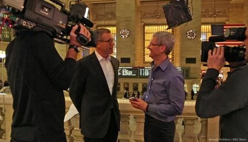 Tim Cook makes shortlist for Time's Person of the Year