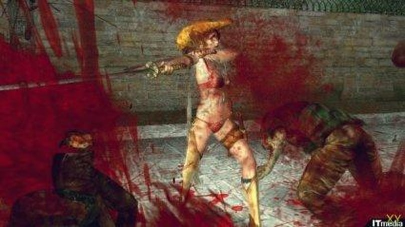 Thong wearing zombie slayer is boring?