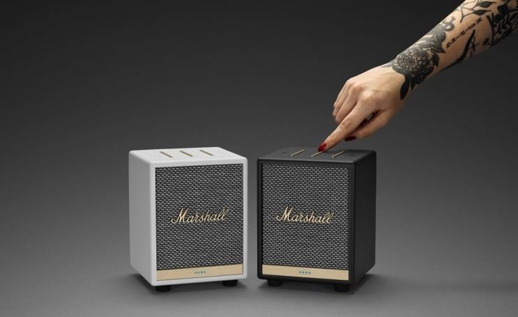 Marshall's latest Alexa smart speaker is a compact cube