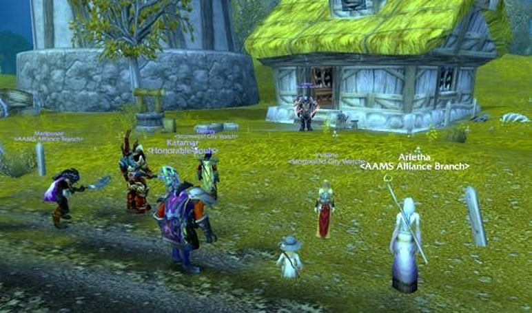 Treating With the Enemy: RP guild greases cross-faction trade and parley