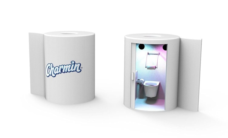 Charmin thinks your bathroom needs robots and VR
