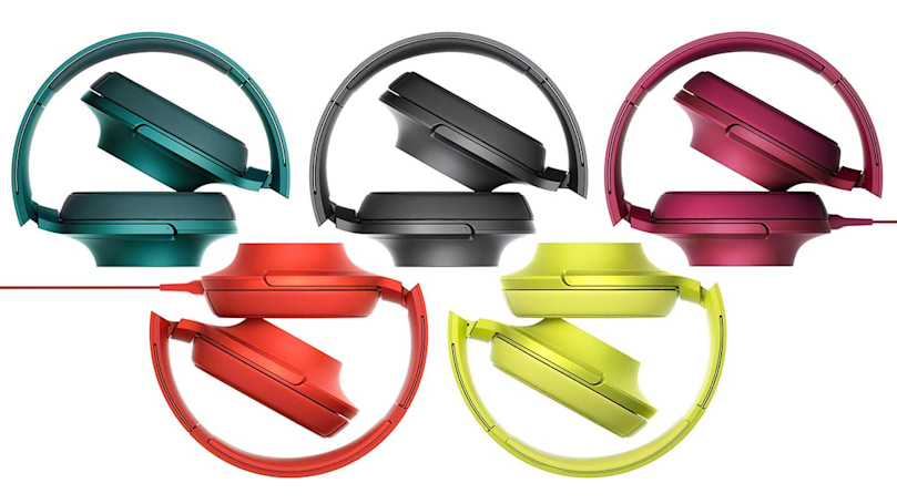 Sony makes a pun out of some pretty Hi-Res Audio headphones