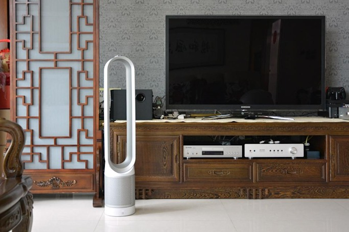 Dyson's new bladeless fan is also a powerful air filter