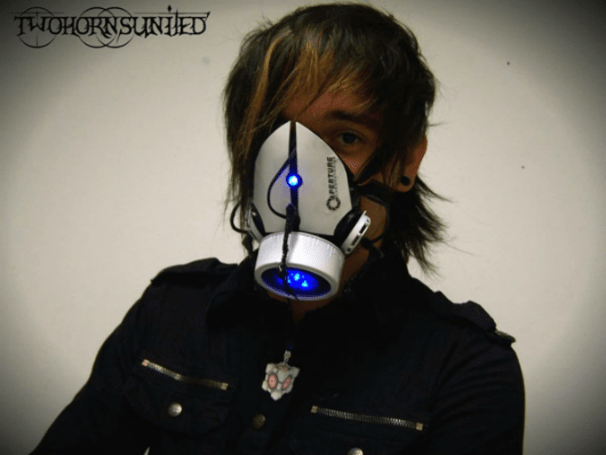 Avoid murdering all of your test subjects with this Aperture Science gas mask