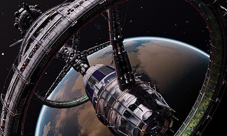 Elite's expansions to include planetary landing, ship interiors