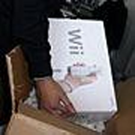 The Wii gets un-boxed