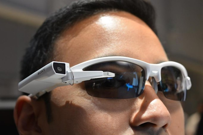 Sony's head-mounted display will turn spectacles into smart glasses