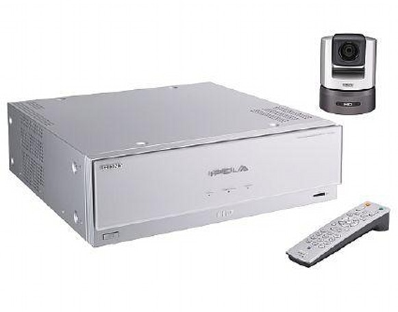 Sony's IPELA system: pricey HD video conferencing