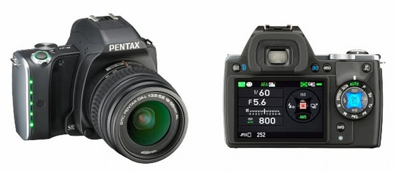Pentax's latest DSLR has glowing LEDs to tell you what mode it's in