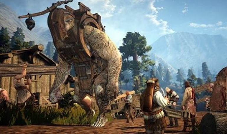 Black Desert's English client is being worked on by Pearl Abyss