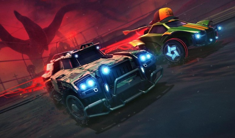 'Stranger Things' is coming to 'Rocket League' for Halloween