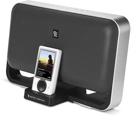 """Altec Lansing's M602: """"made for iPod"""" and, uh, Zune"""