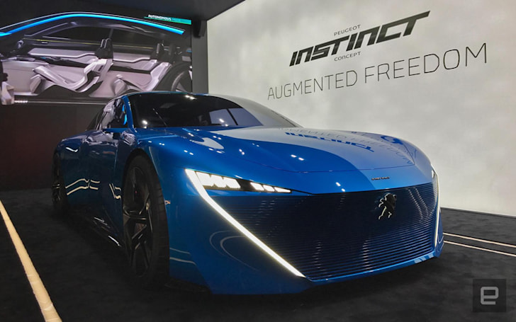 Peugeot concept learns from your IoT gear to improve the ride