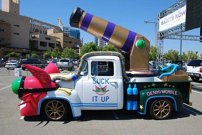 Deep Silver is auctioning off the real-life Saints Row Genki Mobile
