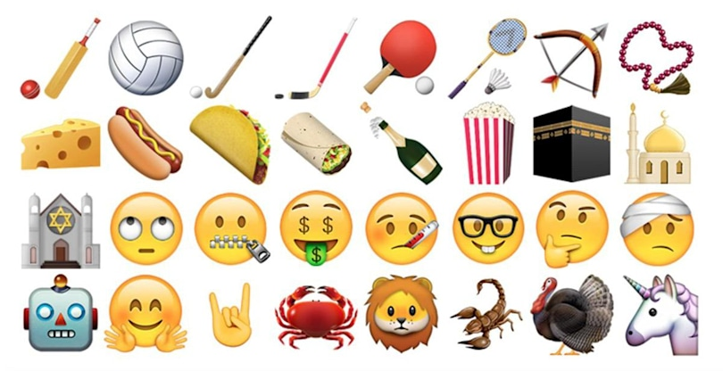 iOS and OS X updates arrive with a ton of new emoji