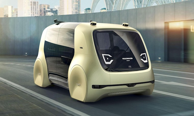 VW's 'Sedric' self-driving car could chauffer you or strangers