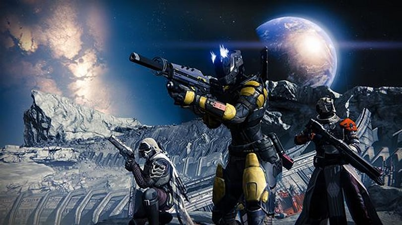 This Destiny beta footage came from the moon