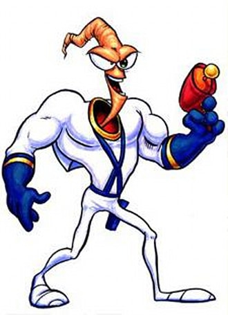 Earthworm Jim on the DS