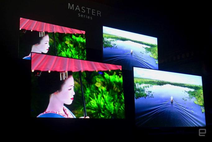 Sony's premium Bravia Master TVs start at $3,500 (updated)