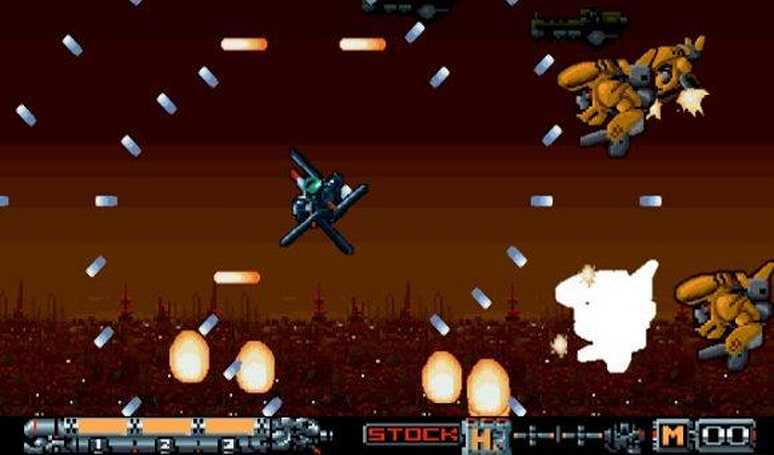 WiiWare's Phalanx remake is almost a Virtual Console game