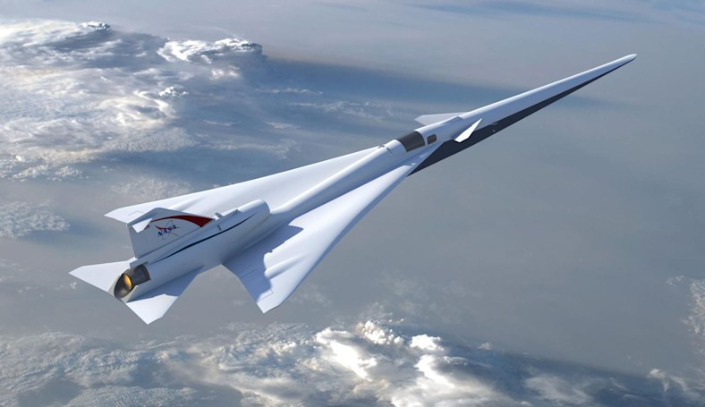 NASA will take images of its quiet supersonic jet's shockwaves