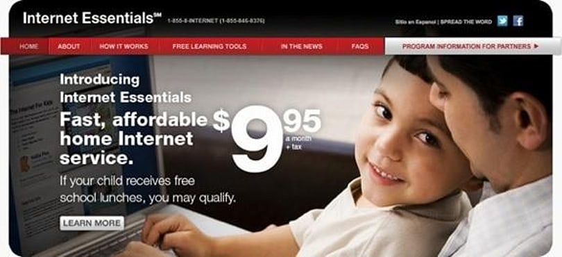 Comcast's internet access program for low-income families will continue indefinitely